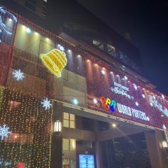 クリスマスイルミネーション☆横浜みなとみらい店より